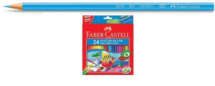 Ecolápis de Cor Aquarelável 24 cores