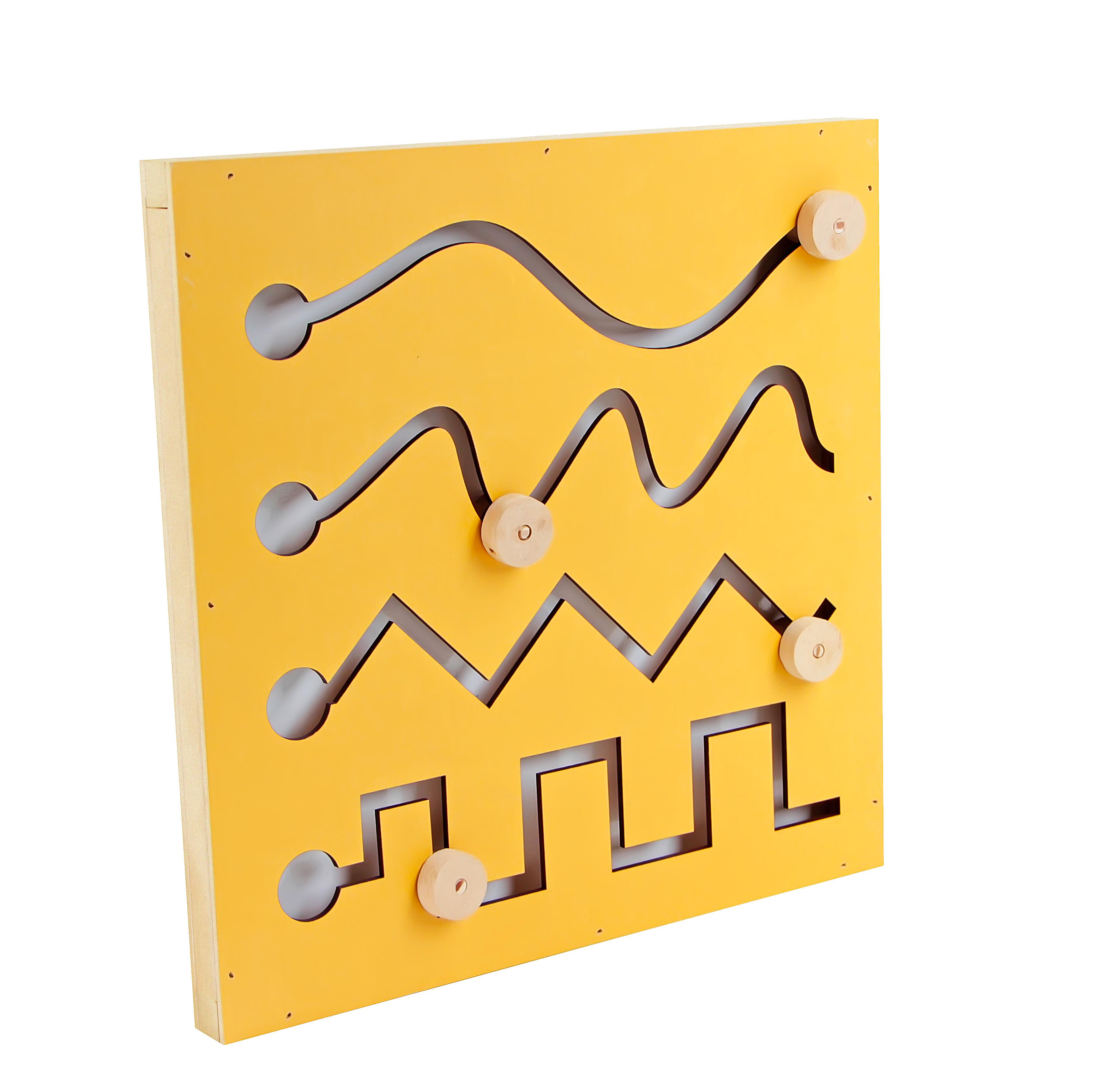 Painéis psicomotores - MDF - Kit com 4 unidades Carlu. Ref: 1589